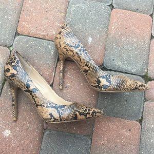 🎉 HOST PICK 🎉 Topshop heels snakeskin 38